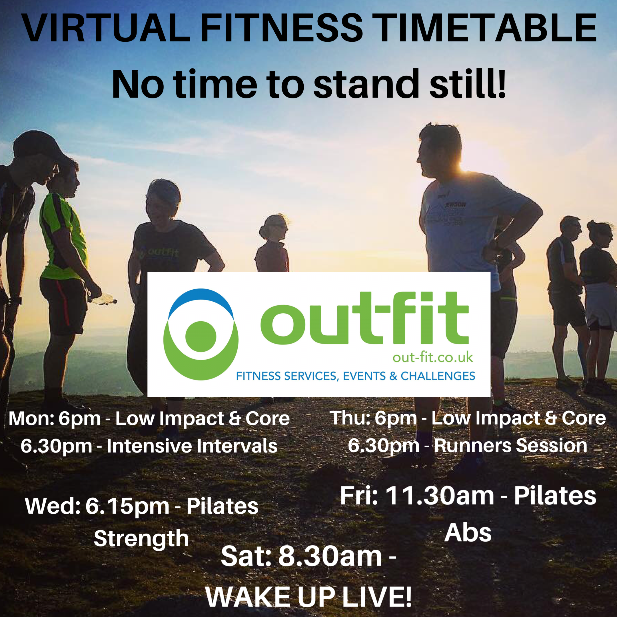 OutFit Online Fitness Club is launched!