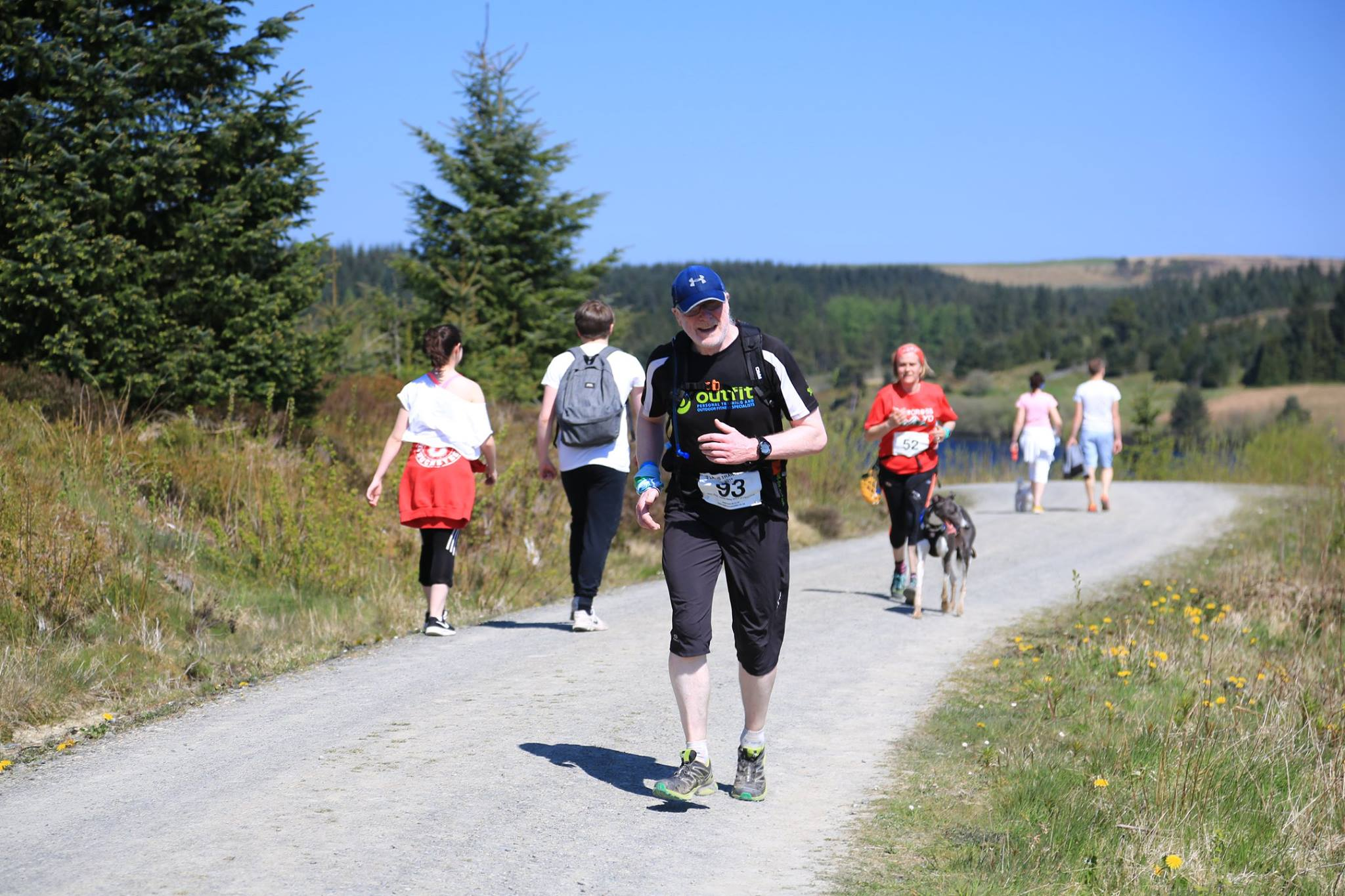 The 2 lakes Trail Races