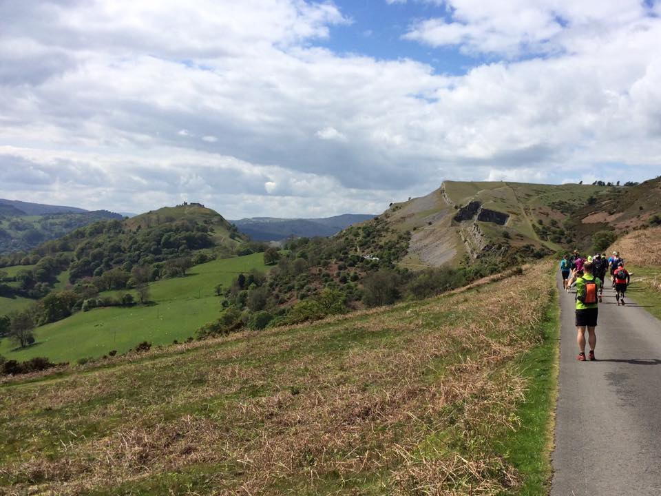 The Llangollen Round - Supported Run Challenge